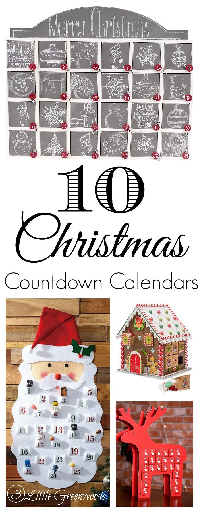 Start a new Christmas tradition is year with Christmas Countdown Calendars! It's a family friendly Christmas activity that your children will always remember!