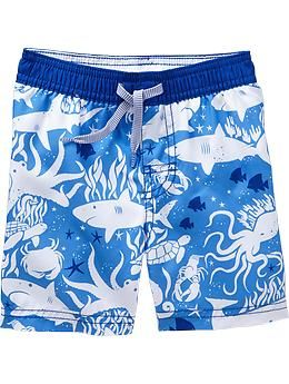 Graphic Swim Shorts for Baby