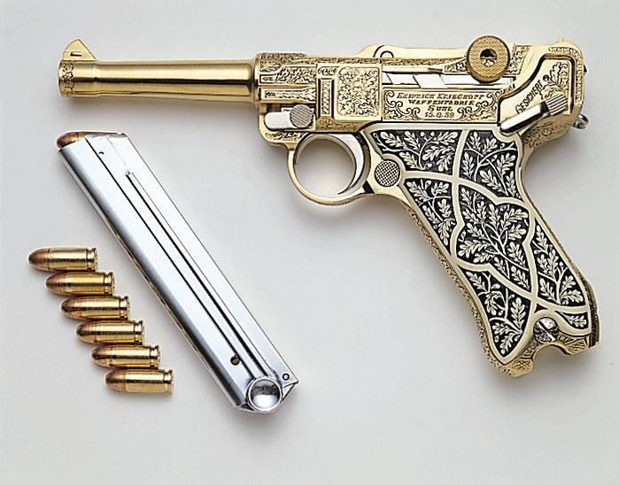 Oh My Lord... who keeps on disguising pieces of art as weapons, really I would never fire that!