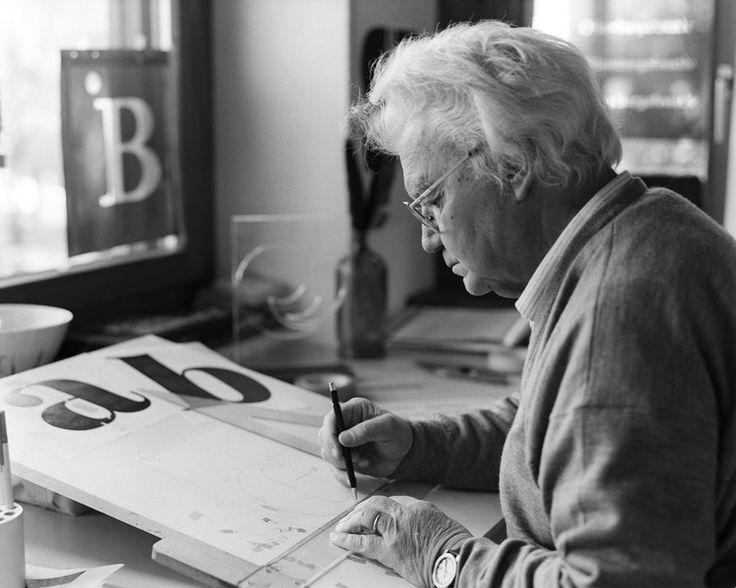 Adrian Frutiger, Schweizer Typograf von Weltruhm,87-jährig gestorben - watson