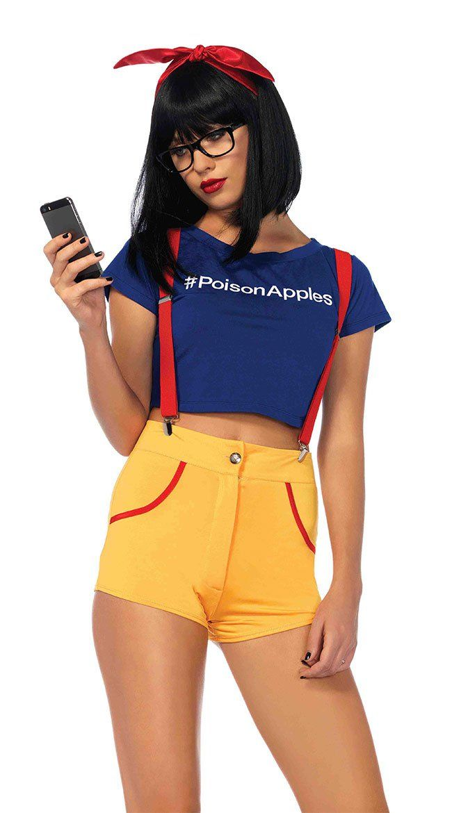 The 31 Sexiest Halloween Costumes of 2016 — Buy Them Now!  Hipster Snow White Costume ($40)
