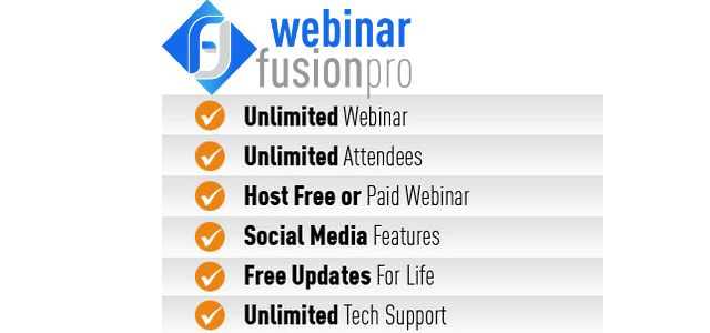 Watch a FULL DEMO video of Webinar Fusion PRO: http://jvz9.com/c/63929/137207 #Webinar #seminar #marketing #video #Strategy