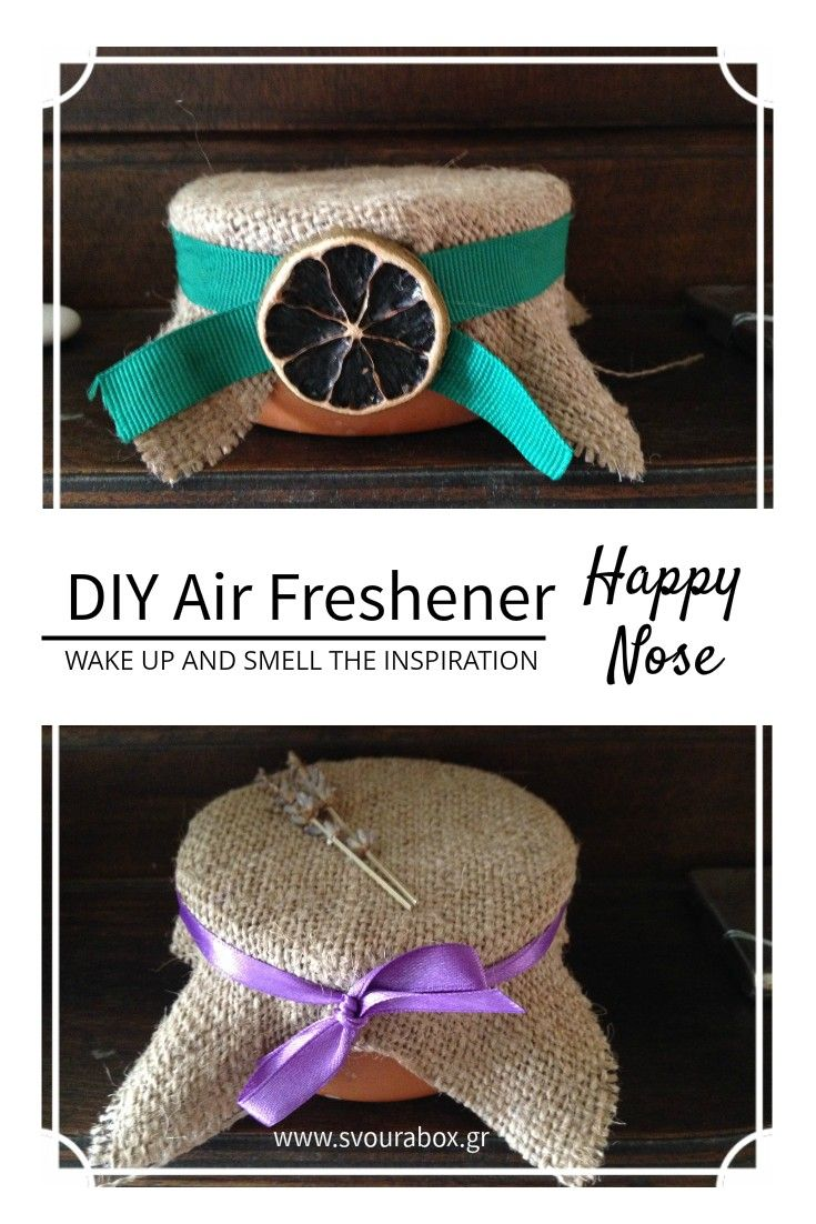 DIY Air Freshener. You can use baking soda or rice as base and your favorite essential oils! Enjoy fresh air!