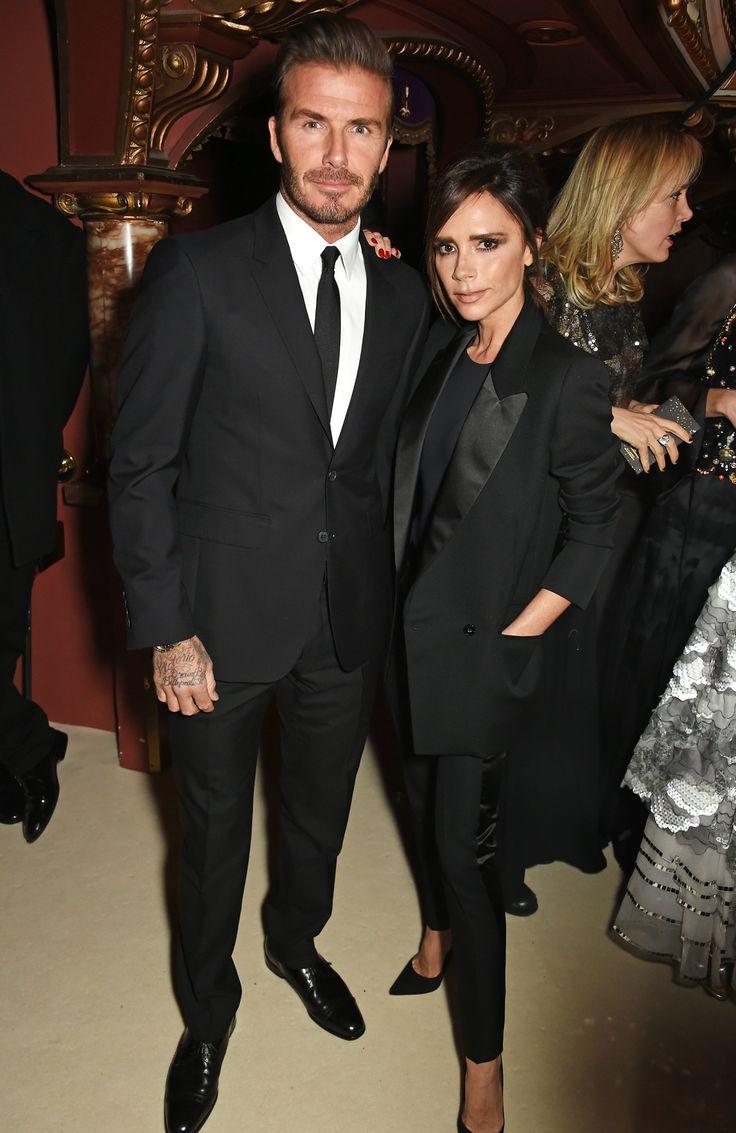 David and Victoria Beckham Embrace the Twinning Trend