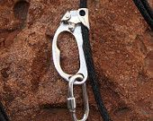 Caving Ascender Poignee and Quick Link Pendant