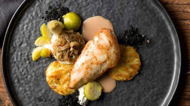 Fazant met witloof, spruitjes, rösti-aardappelen en roomsaus met Orval | VTM Koken