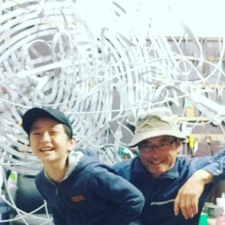 #sculpture#jeon yong hwan#transferming cycles#😃