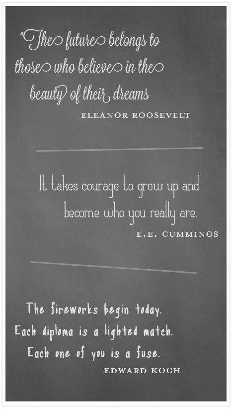 Quotes For High School Graduations: 112 Best Images About Inspirational Graduation Quotes On