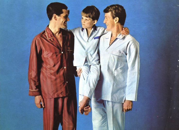 Dad's pyjamas in 1966 from the M&S Archive #FathersDay