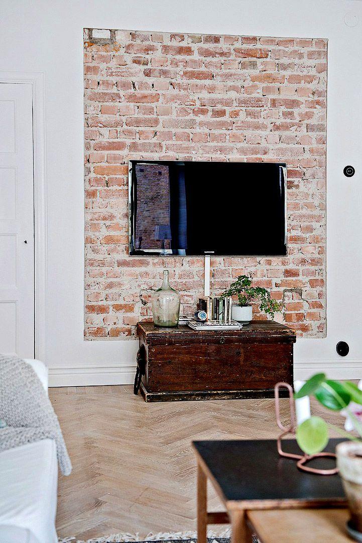Маленькая гостиная в скандинавском стиле #Living_Room #Interiors