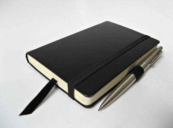 moleskine sketchbook- binding