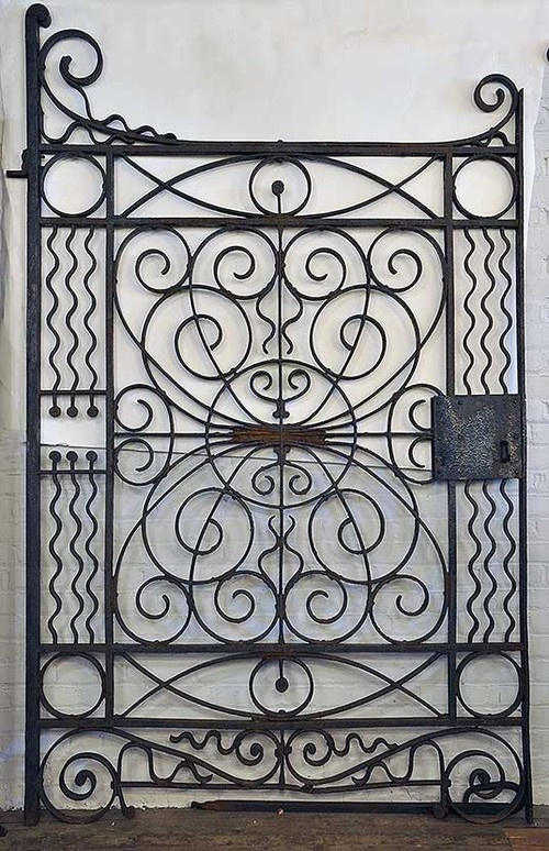 LOVE!!!! Cast Iron Handmade Gates