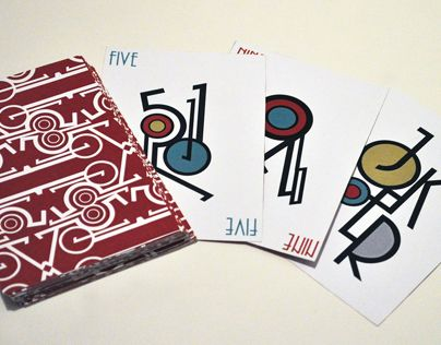 """Consulta este proyecto @Behance: """"Typographic Playing Cards"""" https://www.behance.net/gallery/11681907/Typographic-Playing-Cards"""