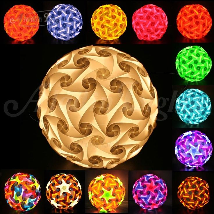 New Aladin 120 Elements Iq Jigsaw Puzzle Ze Lamp Shade Ceiling Light Lighting Us