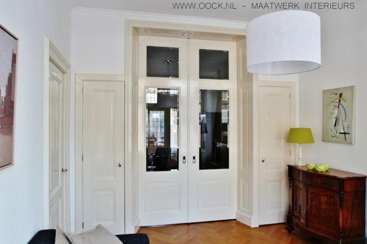 Interieurbouw: Klassieke houten kamer en-suite