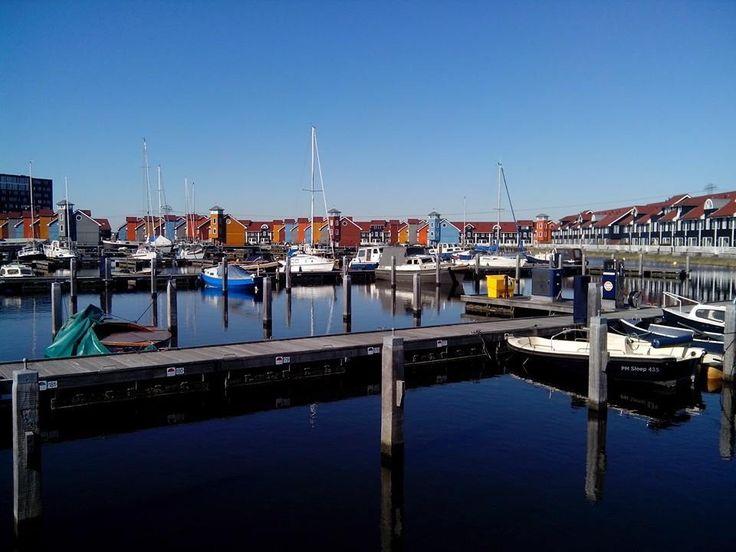 Reitdiep in Groningen.
