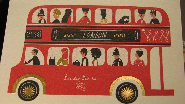 Carte postale - bus impériale