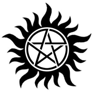 Protection Tattoo - Supernatural - Pentagram considering this to represent fighting off my own inner demons