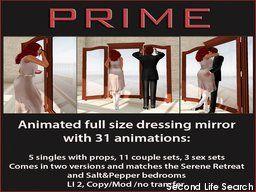 PrimBay - Salt&Pepper Adult mirror by PRIME
