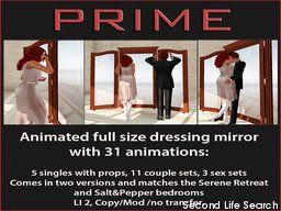 PrimBay - Salt&Pepper Adult mirror by PRIME