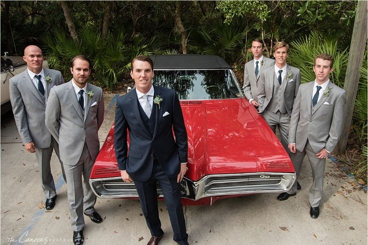 Groom and Groomsmen Fashion See more here: https://www.thecanovasphotography.com/new-smyrna-beach-wedding-atlantic-center-for-the-arts-karly-and-kyle/
