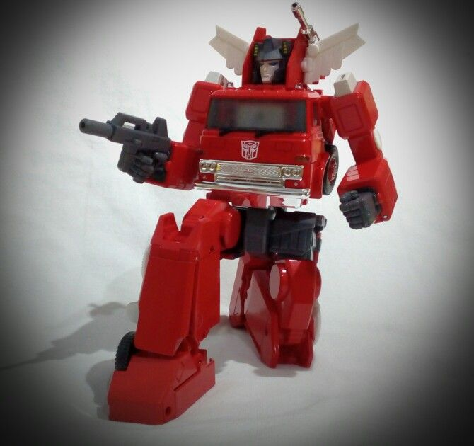MP Inferno, posing his trademark pose.
