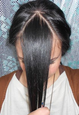Cómo cortar su flequillo en casa. Paso a Paso - Lola Loves Sparkles: How to cut your fringe/bangs at home. Step by Step