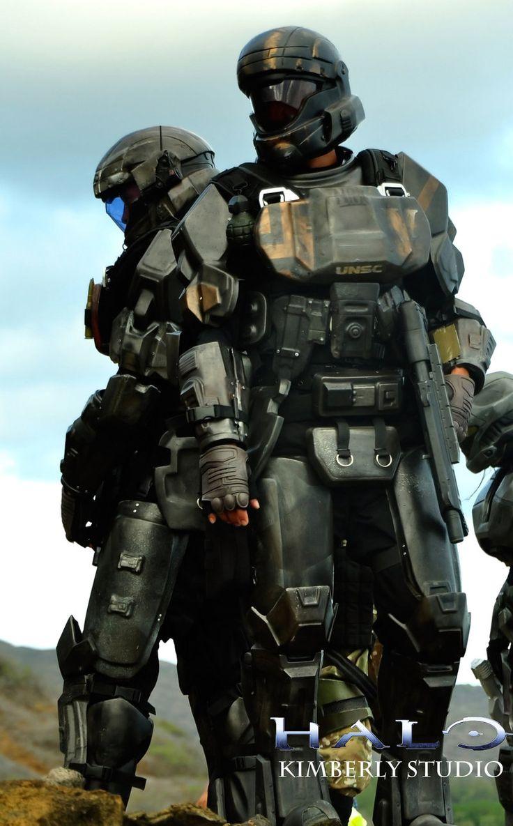 Halo ODST Cosplay by kimberlystudio.deviantart.com on @deviantART