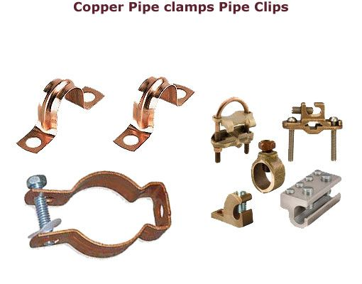 Copper Pipe Clamps  Pipe Clamps #CopperPipeClamps  #PipeClamps #Copperclamps #CopperGroundrodClamps We offer various types of #CopperPipeclamps #Groundrodclamps #Coppergroundingclamps  direct burial UL listed earth rod clamps for electrical and earthing applications.