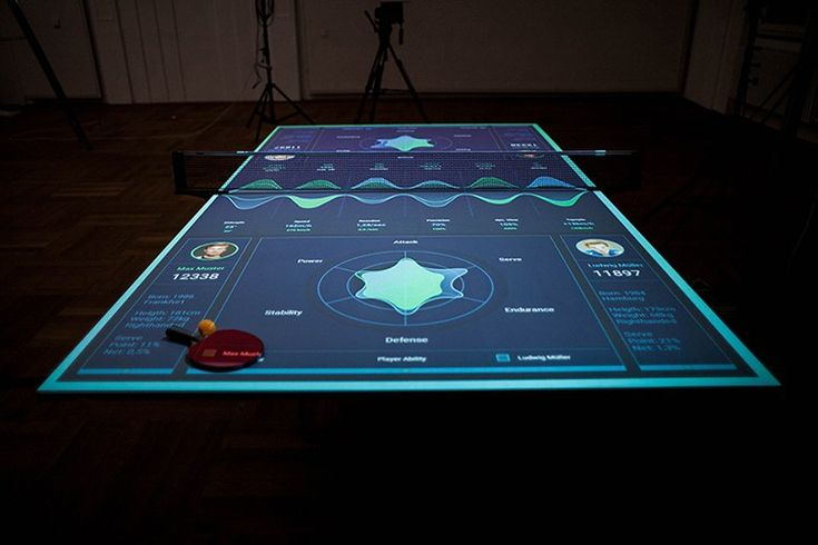 German designer Thomas Mayer underwent the carpenter's apprenticeship we discussed here, but afterwards he pursued a degree in Interaction Design. The result is that he can not only build furniture, but can imbue it with technology-based UX enhancements. As an example, check out his Interactive Table Tennis Trainer: interactive