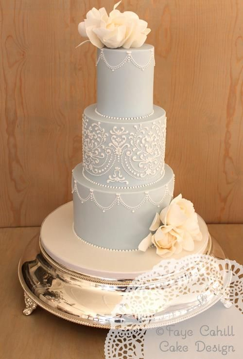 Featured cake: Faye Cahill Cake; To see more beautifully designed wedding cakes: http://www.modwedding.com/2014/11/11/prettiness-exquisite-wedding-cakes-faye-cahill-cake/  #wedding #weddings #wedding_cake cake: Faye Cahill Cake