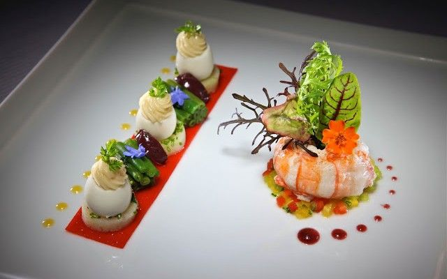 Michelin Star food and the art of food plating