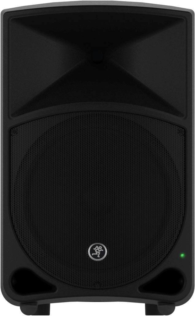 """Aktiv 400/200 watt klass-D högtalare med 12"""" bas och 1"""" diskant driver, aktivt elektroniskt delningsfilter och 3-bands EQ."""
