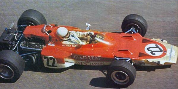 1970 - Jochen Rindt - Lotus 72C Ford Cosworth - Gold Leaf Team Lotus.