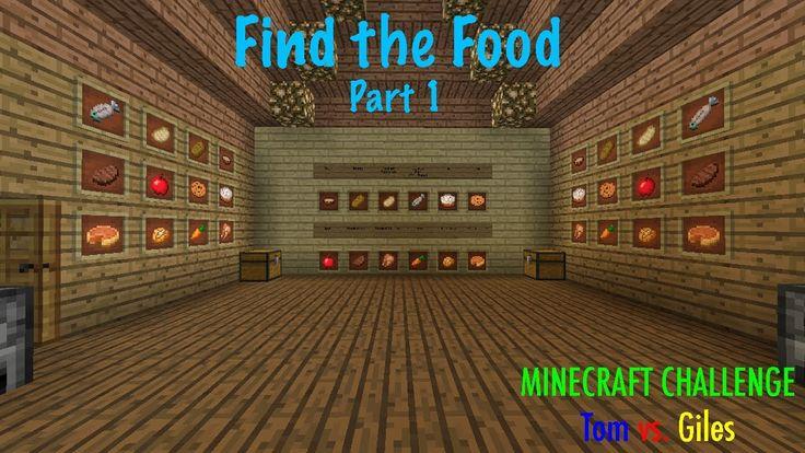 Minecraft Challenge - Find the Food Part 1