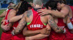L'équipe canadienne de rugby à sept féminin affrontera la nation perdante du match opposant la Grande-Bretagne à la Nouvelle-Zélande après...
