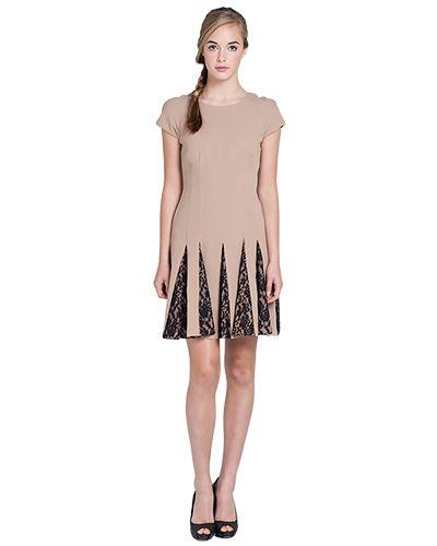 BL1476 Belle Honeycomb Lace Dress by Belle Badgley Mischka - $179.00