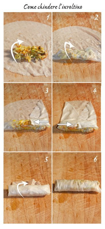 La vera ricetta originale cinese degli involtini primavera vegetali con video tutorial per la formazione della sfoglia. Come al ristorante cinese!