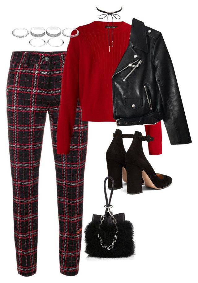 """""""Sans titre #3168"""" by christina95styles ❤ liked on Polyvore featuring Cambio, Proenza Schouler, Gianvito Rossi, Alexander Wang, Charlotte Russe and Kate Spade"""