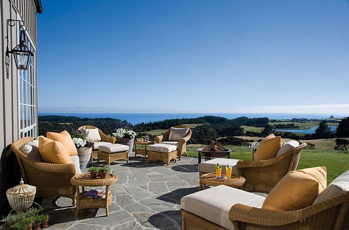 Cape Kidnappers - Owner's Cottage: luxury lodge accommodation, Hawke's Bay NZ