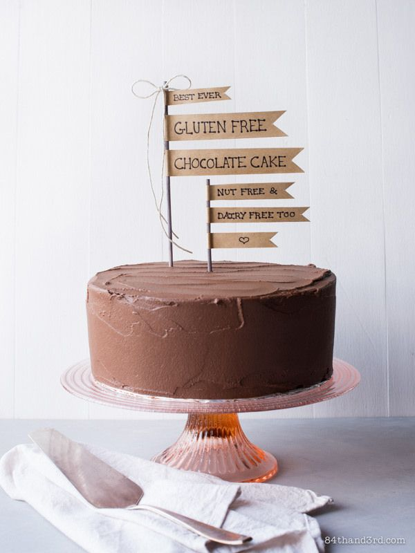 84th&3rd | Best Ever Gluten Free Chocolate Cake (Dairy Free, Nut Free & Probably Paleo too)