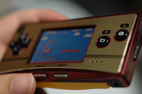 Gameboy Micro - Famicom Edition