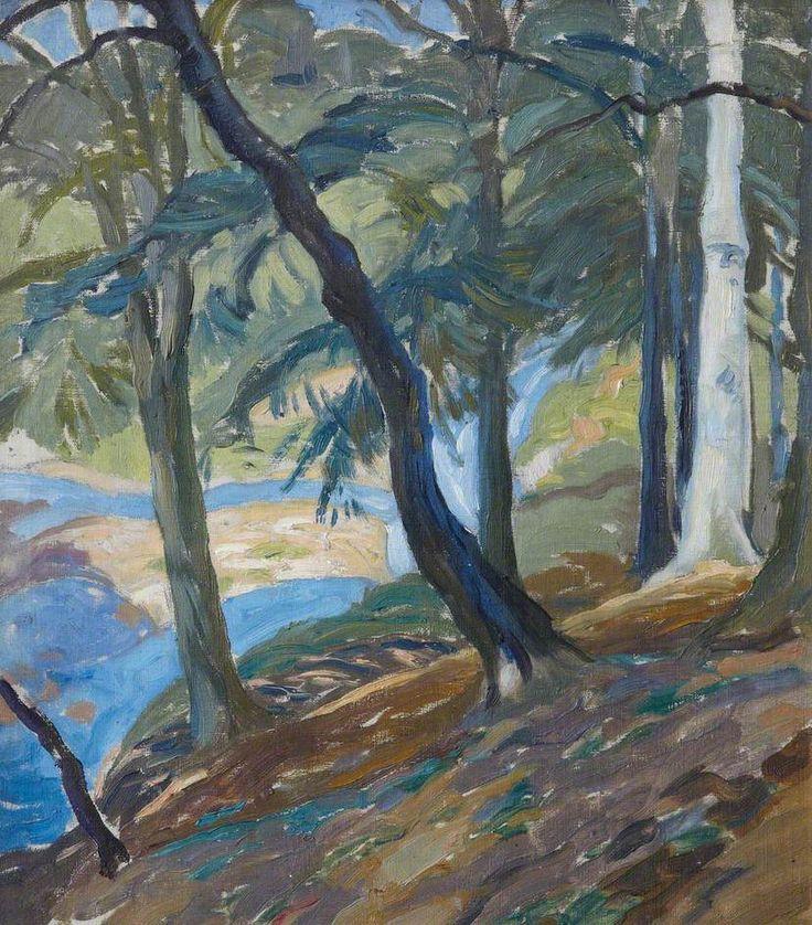 William George Gillies Hillside Landscape