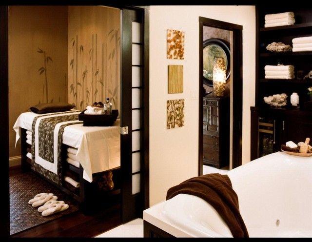 massage room quinn s spa pinterest