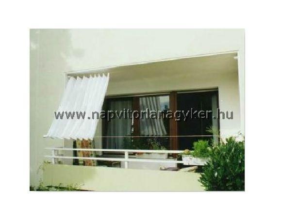 Akár a 10. emeleten is megoldható otthonának árnyékolása.  http://www.napvitorlanagyker.hu/erkely.html