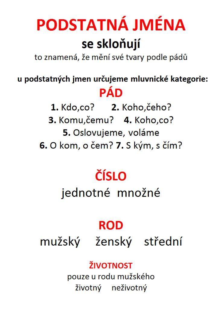 PODSTATNÁ JMÉNA, slovesa.docx