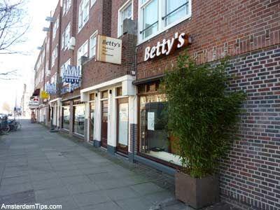 Betty's vegetarian restaurant