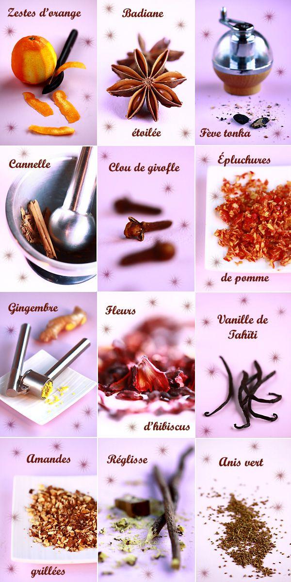 recette de la tisane de noël épicée