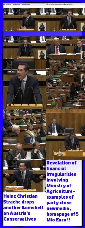 Heinz Christian Strache in ausserordentlichen Sitzung im Nationalrat - von Korruption und Misstrauen gezeichnete ÖVP kassiert erhebliche Vorwürfe - https://plus.google.com/u/0/101700768890016369861/posts | #FPÖ #hcstrache #Österreich #Wien #Vienna