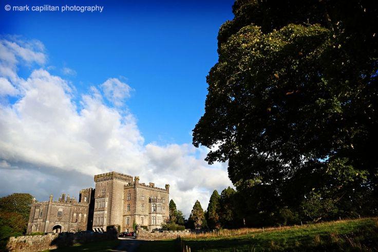 Markree Castle in sunshine wedding photographer sligo